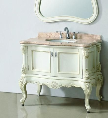 Choosing The Right Ornate Antique White Bathroom Vanities White Vanity Bathroom Antique Bathroom Vanity Bathroom Vanity Style