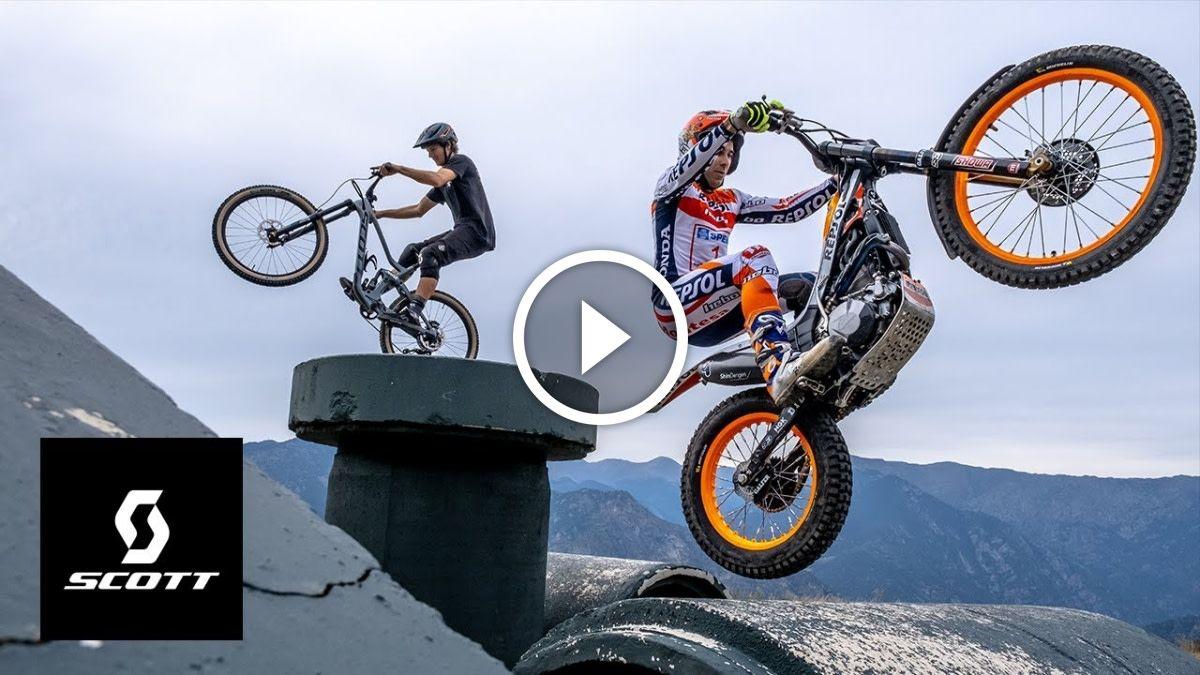 Mtb Vs Moto In The Game Of Bike With Antoine Buffart Video