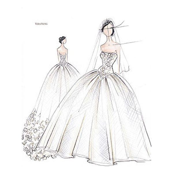 Wedding Gown Illustrations: Wedding Dresses Illustrations - Google Search