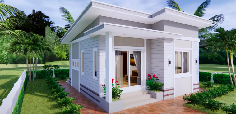 Lovely Simple One Bedroom House Plan - Pinoy House Designs ...