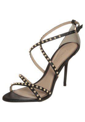 Sandali con i tacchi - nero