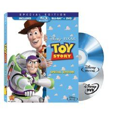 Toy Story (Two-Disc Special Edition Blu-ray/DVD Combo in Blu-ray Packaging) (1995).  List Price: $39.99  Savings: $15.00 (38%)