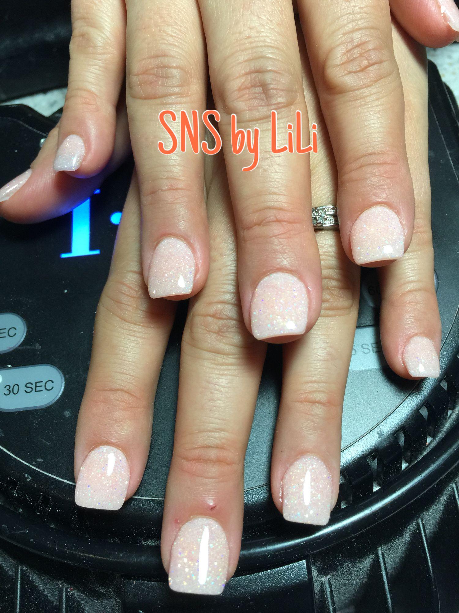 SNS nails (dipping powder) by LiLi ! | Nails | Pinterest