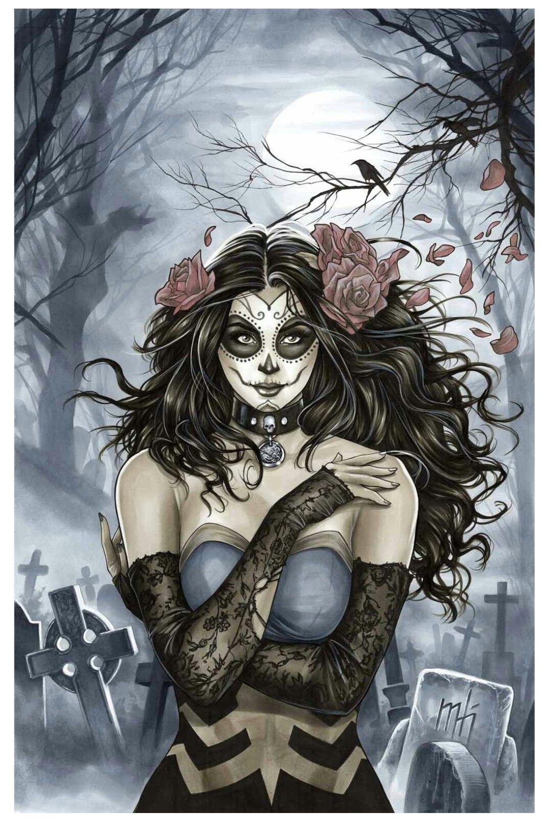 Zenescope Grimm Fairy Tales Dia De Los Muertos Mini Art