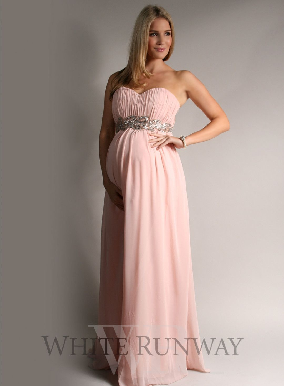 Grecian Strapless Dress. A strapless formal dress with a Grecian ...