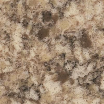 Picture Gallery Website Quartz Countertop Sample in Giallo Nova at The Home Depot Tablet