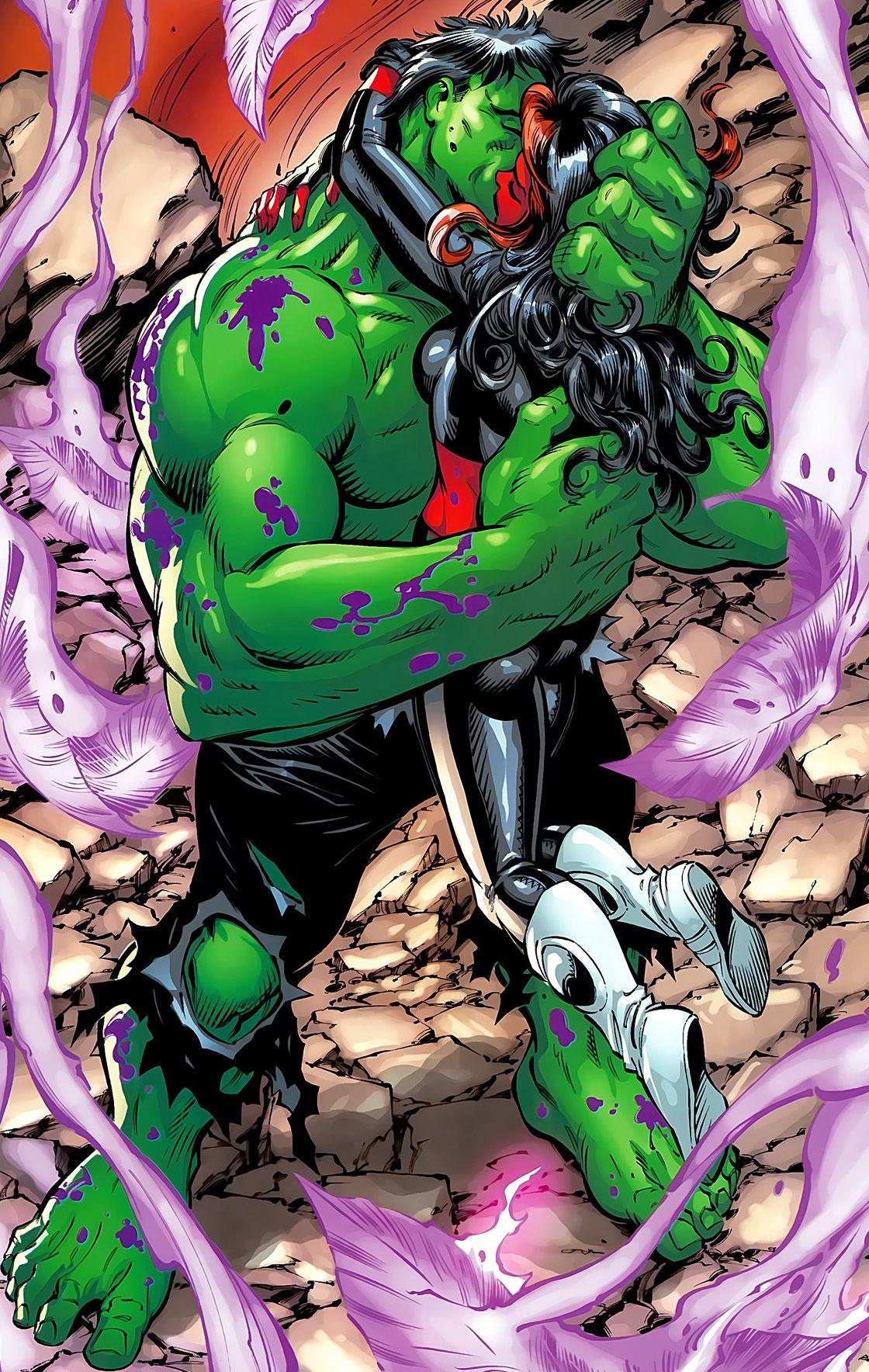 Hulk cartone animato sesso