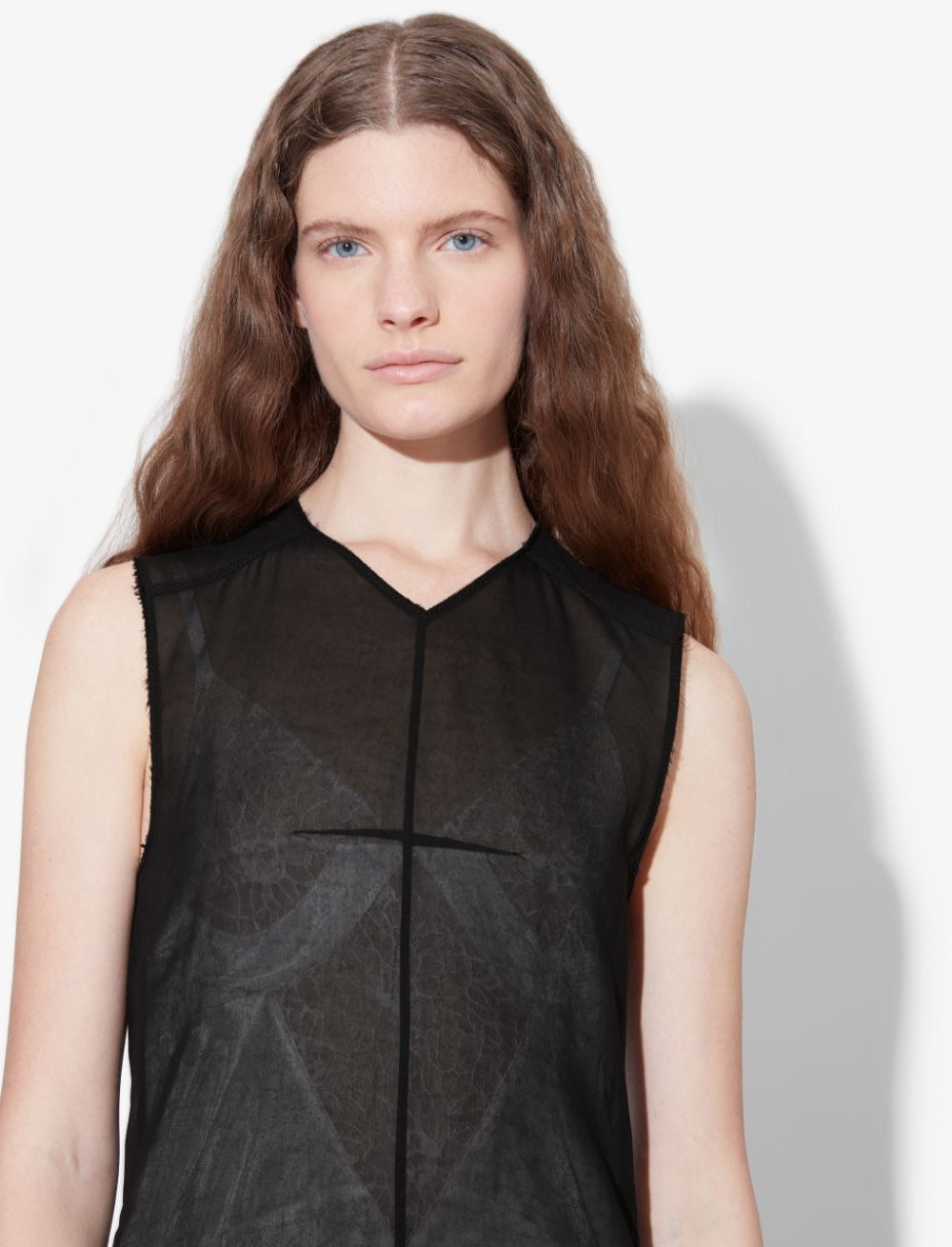 Washed Satin Sleeveless Dress #blacksleevelessdress