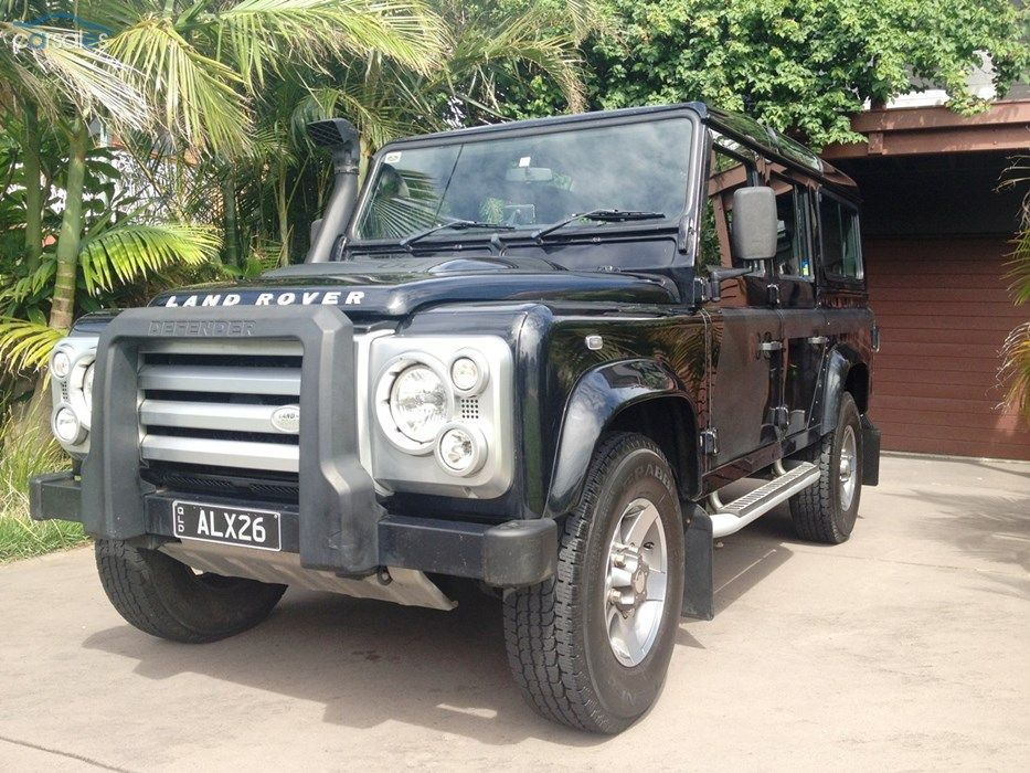 2008 Land Rover Defender 110 SVX 60th Anniversary 09MY