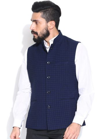 b59baa11b Groomsmen look 1: navy vest & pant with white shirts | Indian men ...