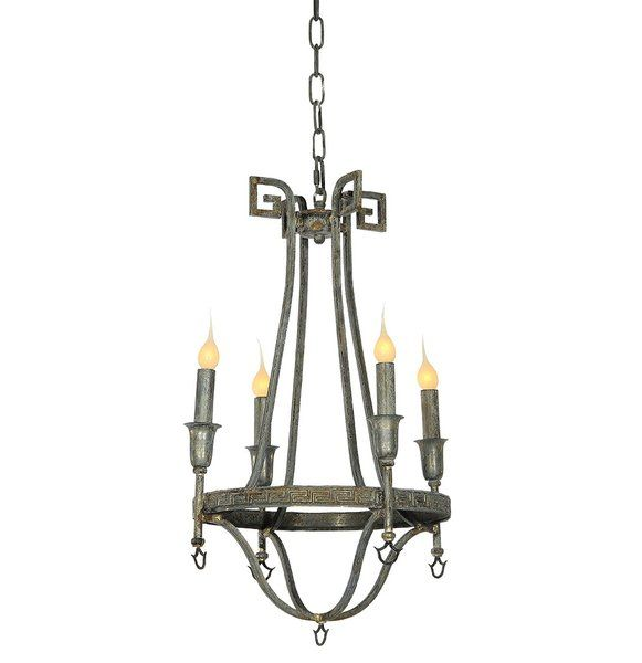 Bailey 4 Light Candle Style Chandelier