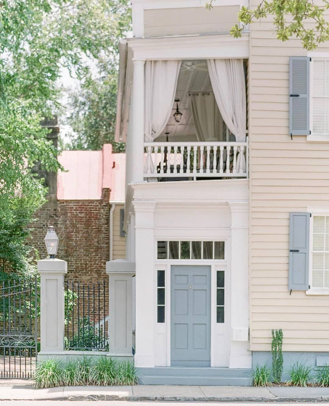 "Carolina Home Exteriors: Zero George Street On Instagram: ""Two Reasons We Love"