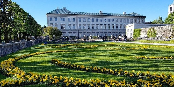 Mirabell Palace and Gardens, Salzburg, Austria, Europe