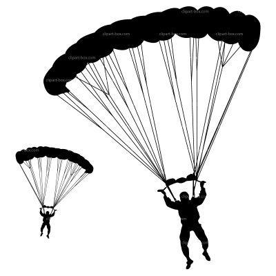 army silhouette parachute clipart paraquedas pinterest parachutes rh pinterest ca parachute clipart black and white clipart parachute gratuit