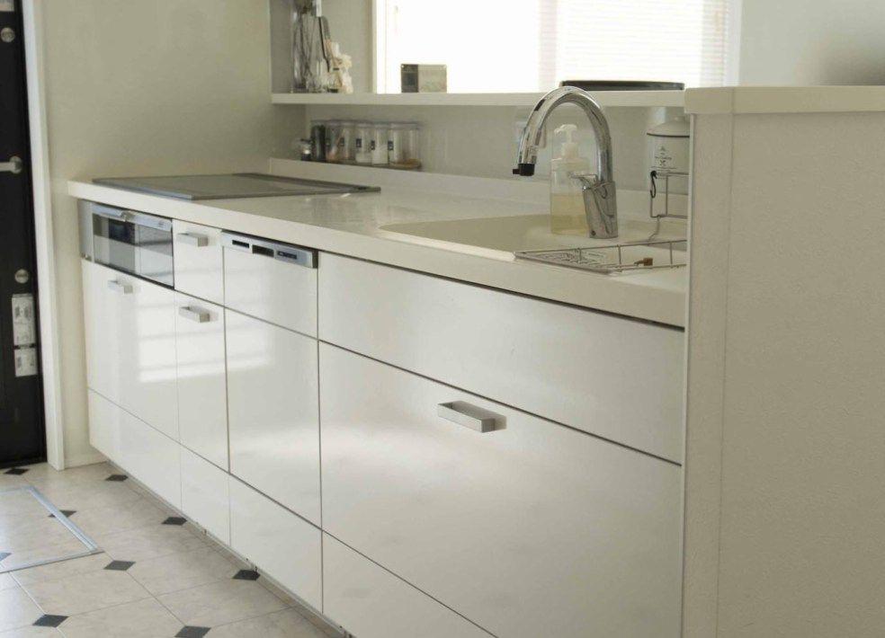 入居後web内覧会 キッチン 吊戸棚は必要なし 収納多いリクシルシエラで 家 づくり オシャレな家 キッチン
