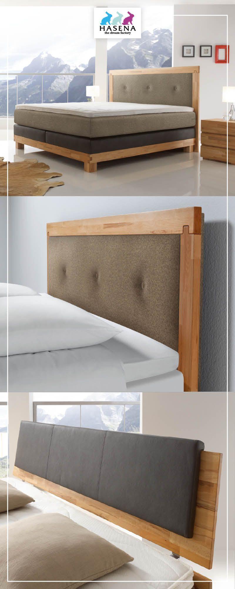 Hasena Boxspring Bett Massiva Mit Kopfteil Merano Oder Kopfteil