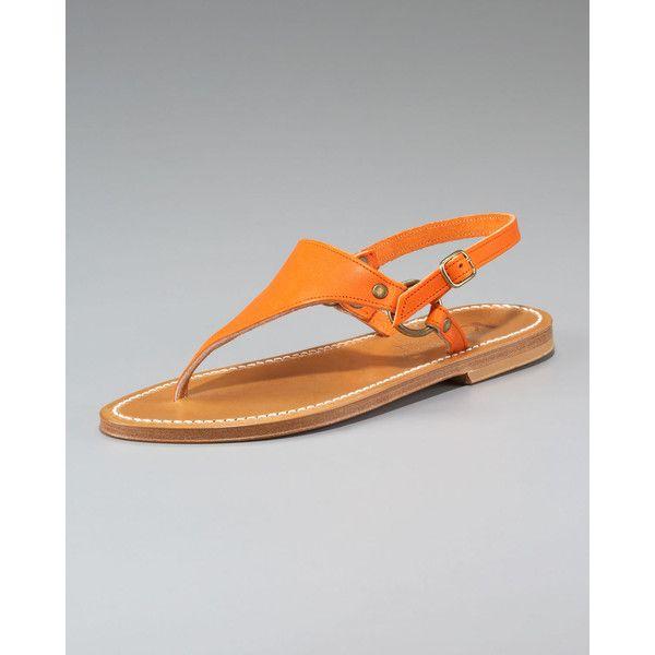 477a12d49fd Women s K. Jacques Slingback Flat Thong Sandal found on Polyvore ...