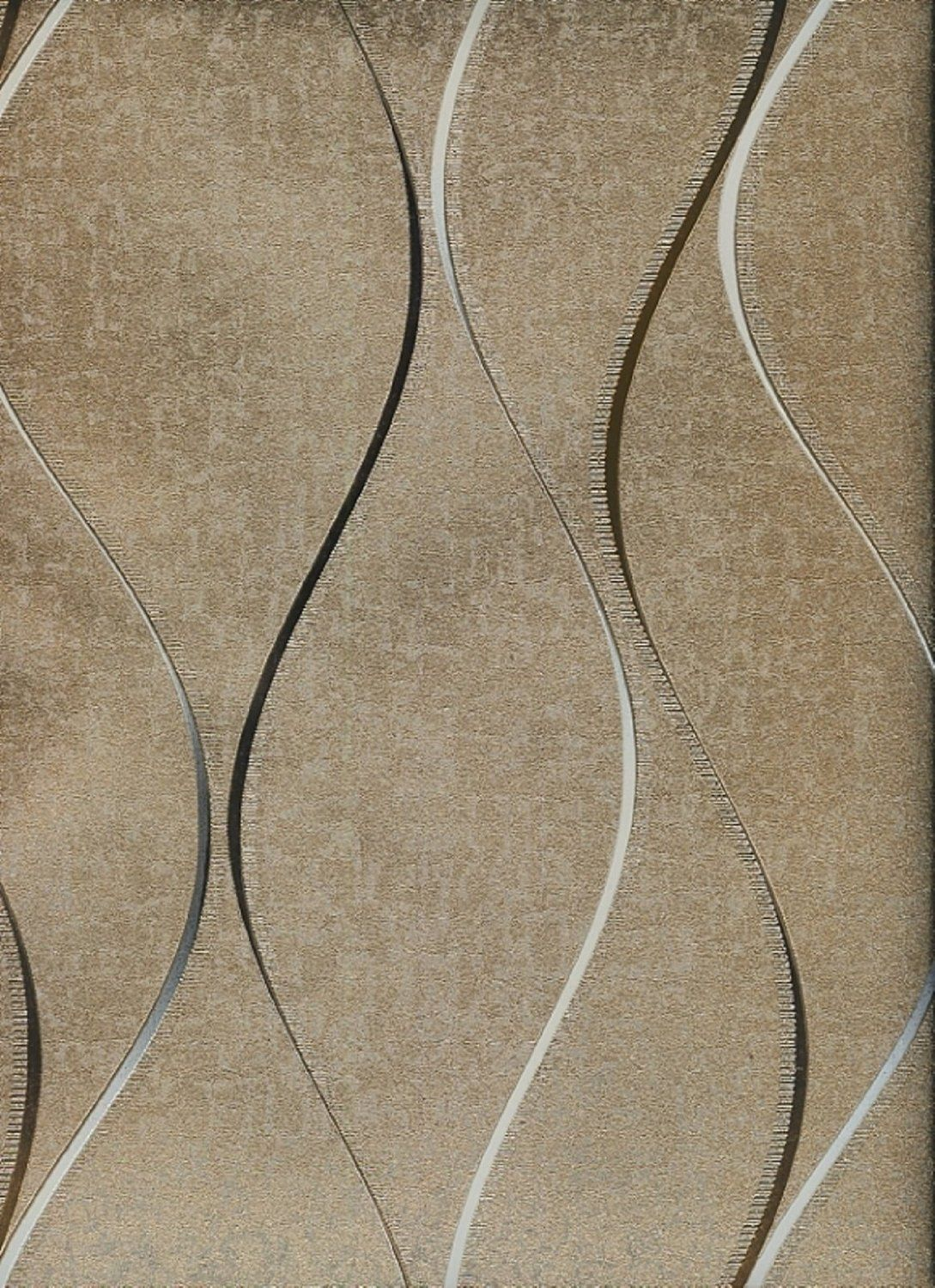 York Wallcoverings Enchantment ET2026 Textured Gold Wallpaper