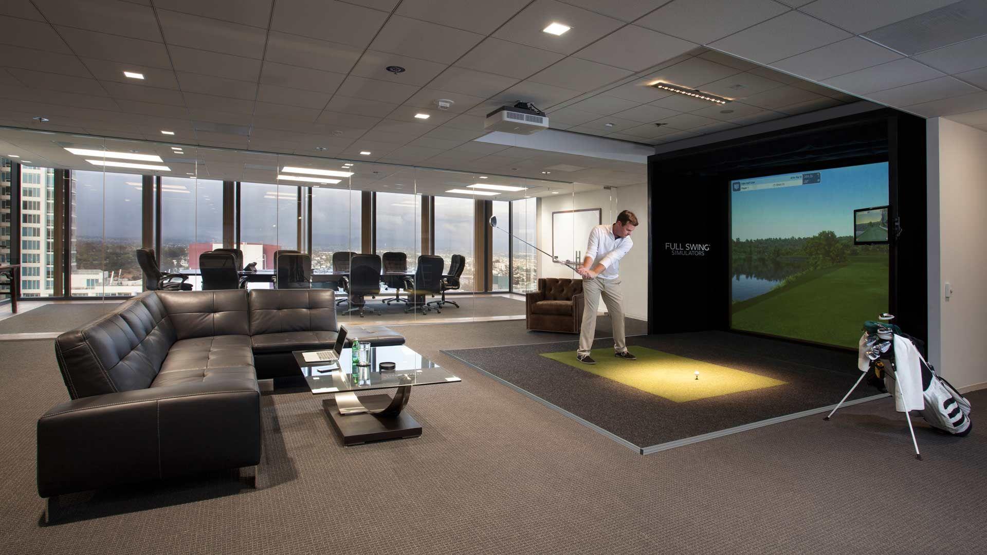 Full Swing Golf: Indoor Golf Simulator Technology S4 Simulator | 10 ...