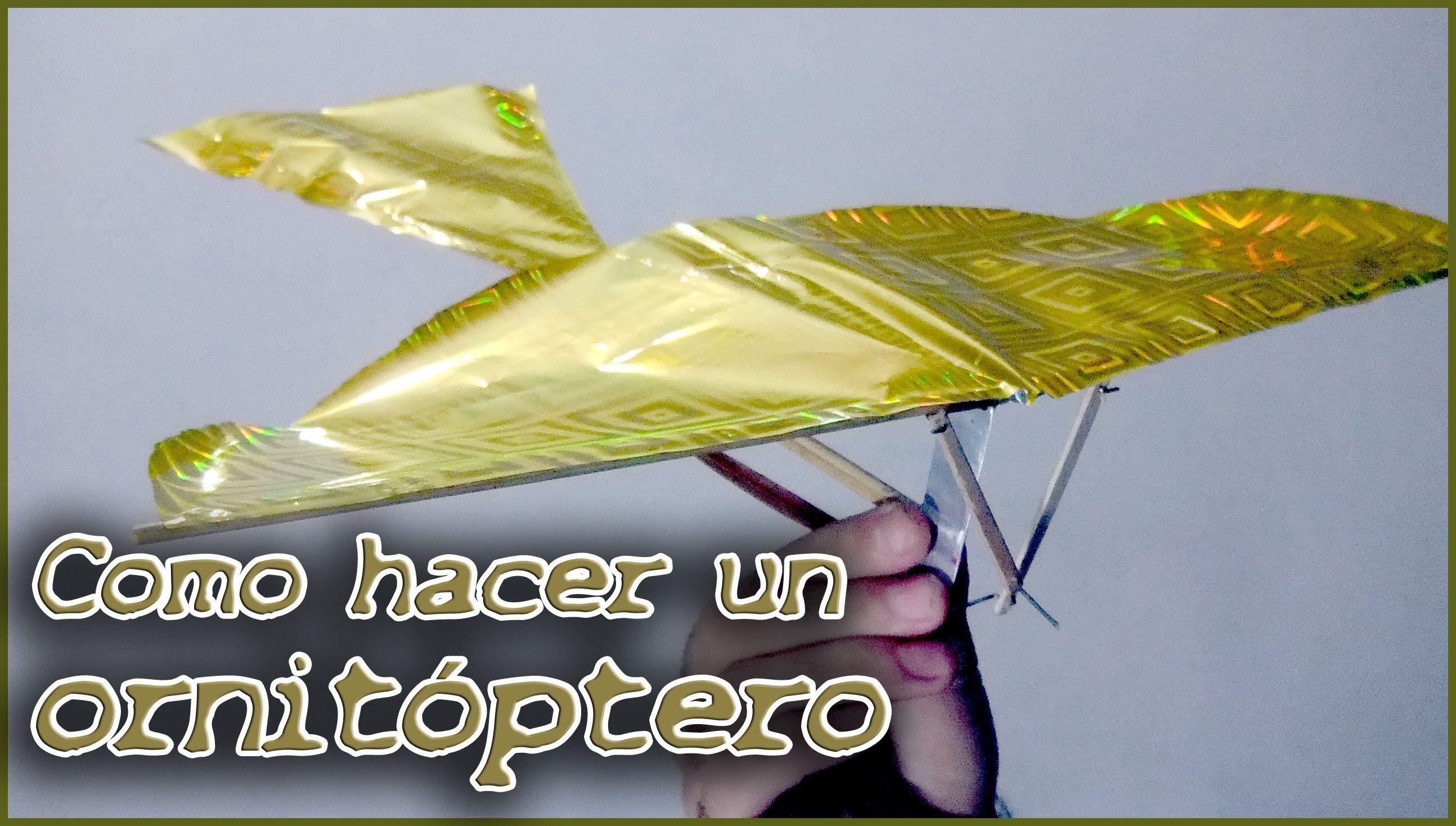 Hacer Un Pájaro Juguetes Como MecánicoCosos Ornitóptero O oEQrBCdxeW