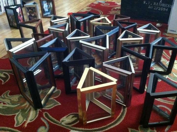 26 Picture Frame Centerpiece 42 Off Retail Prom Ideas Gold