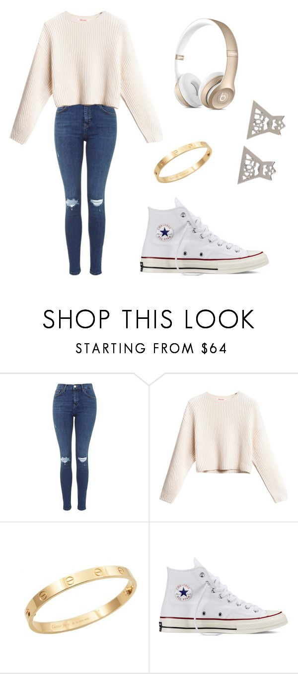"""""""Untitled #173"""" by katezquaddirectioner ❤ liked on Polyvore featuring Cachet and Converse"""