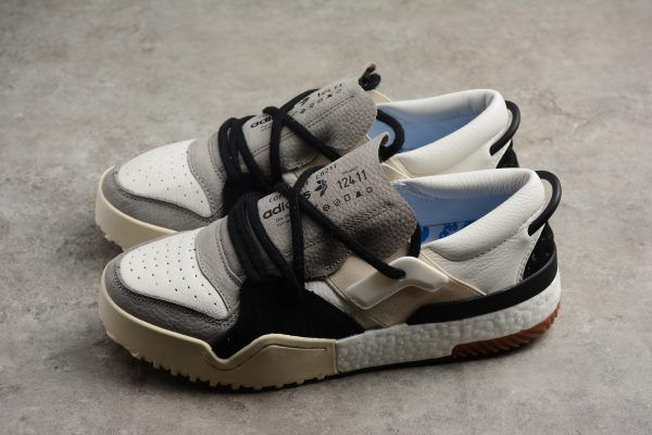 8d980c6bf032 adidas Alexander Wang Bball Low White Grey Black AC6848 For Sale-2