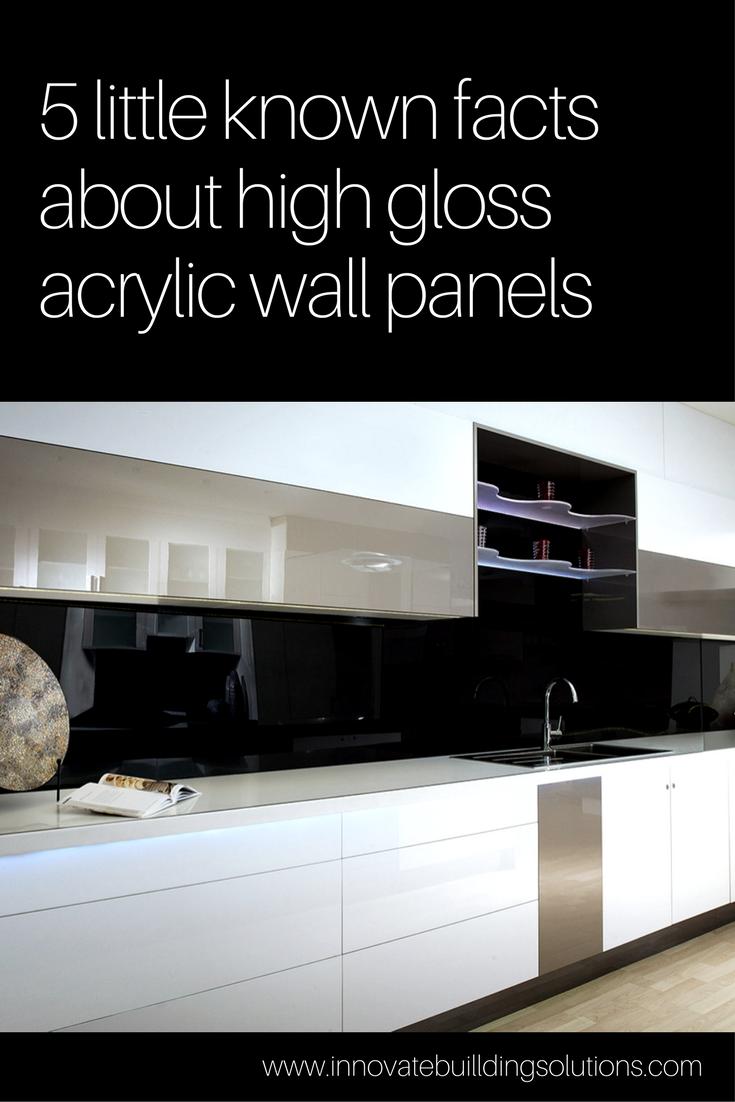 5 Little Known Facts About High Gloss Acrylic Wall Panels Kitchen Wall Panels Contemporary Backsplash Acrylic Wall Panels
