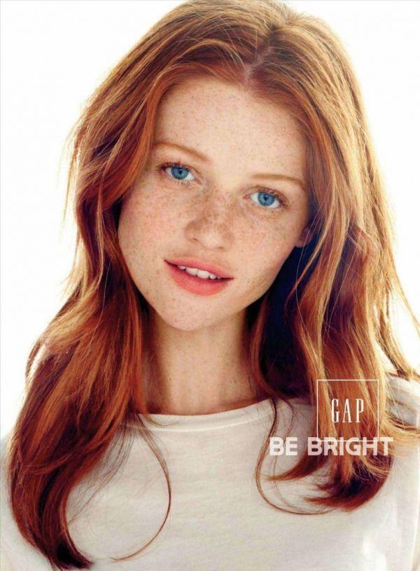 Natural redhead girls