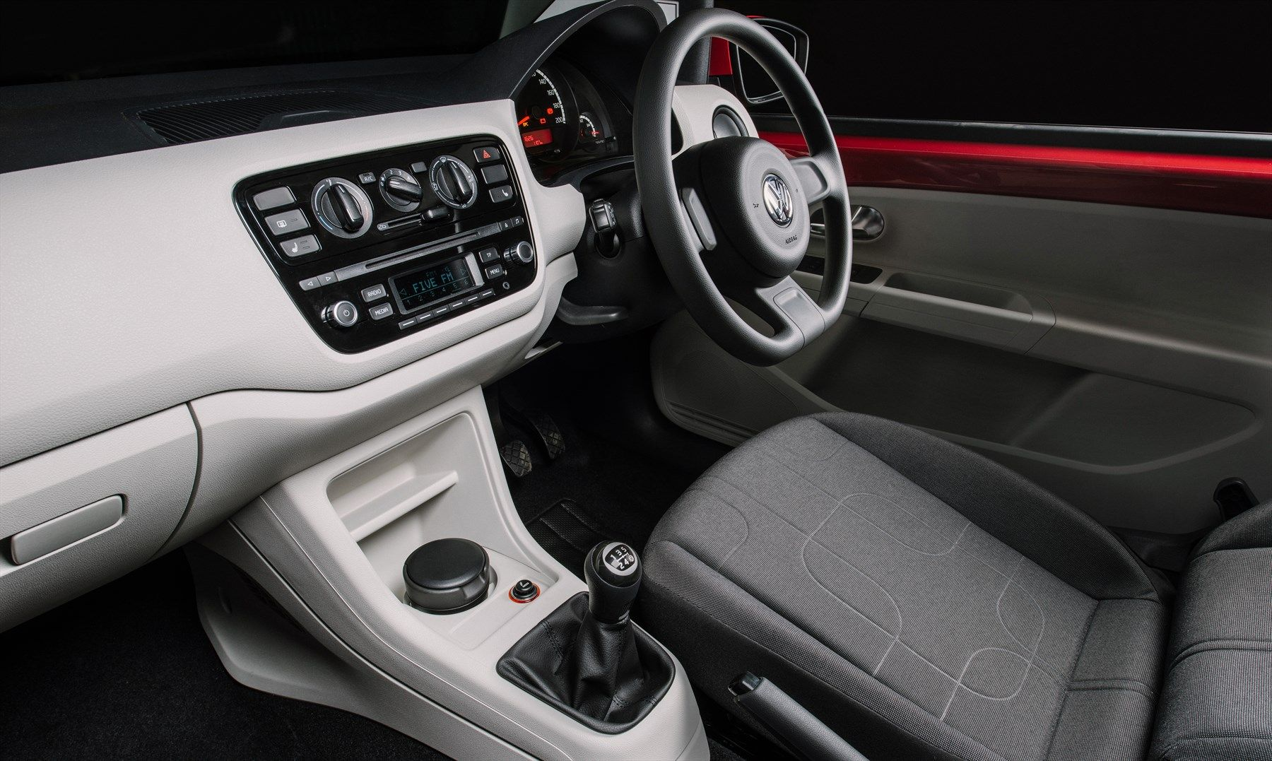 Clean and #functional #interior of the New #Volkswagen #VW #up! | VW ...