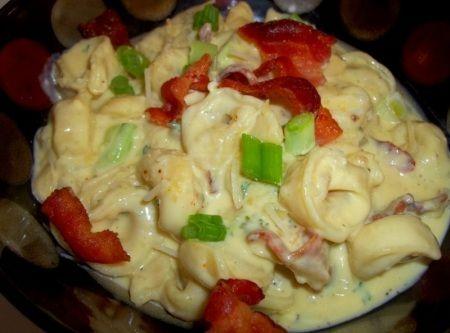 Cass's Delicious Cheese Tortellini Alfredo Recipe