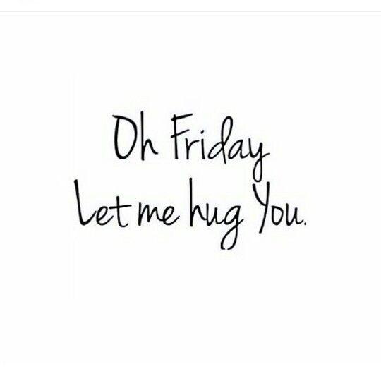Oh #Freitag - ich mag dich so sehr