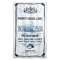 Disney Cruise Line Captain Mickey Mouse Beach Towel Disney