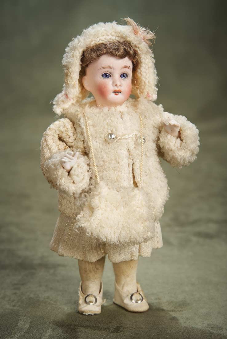 Candy Container.  View Catalog Item - Theriault's Antique Doll Auctions