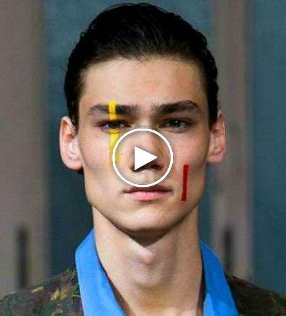 Maquillage Make-up Editorial Editorial Hommes + in 2020 | Männer make