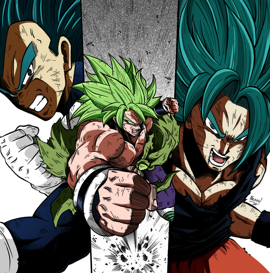 Fan Art Dragon Ball Super Broly By Baloreditions Dragon Ball Art Dragon Ball Artwork Dragon Ball Super Art
