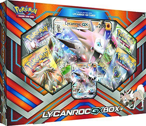 Pokemon Tcg 2017 Lycanroc Gx Box With 1 Foil Lycanroc Gx Card