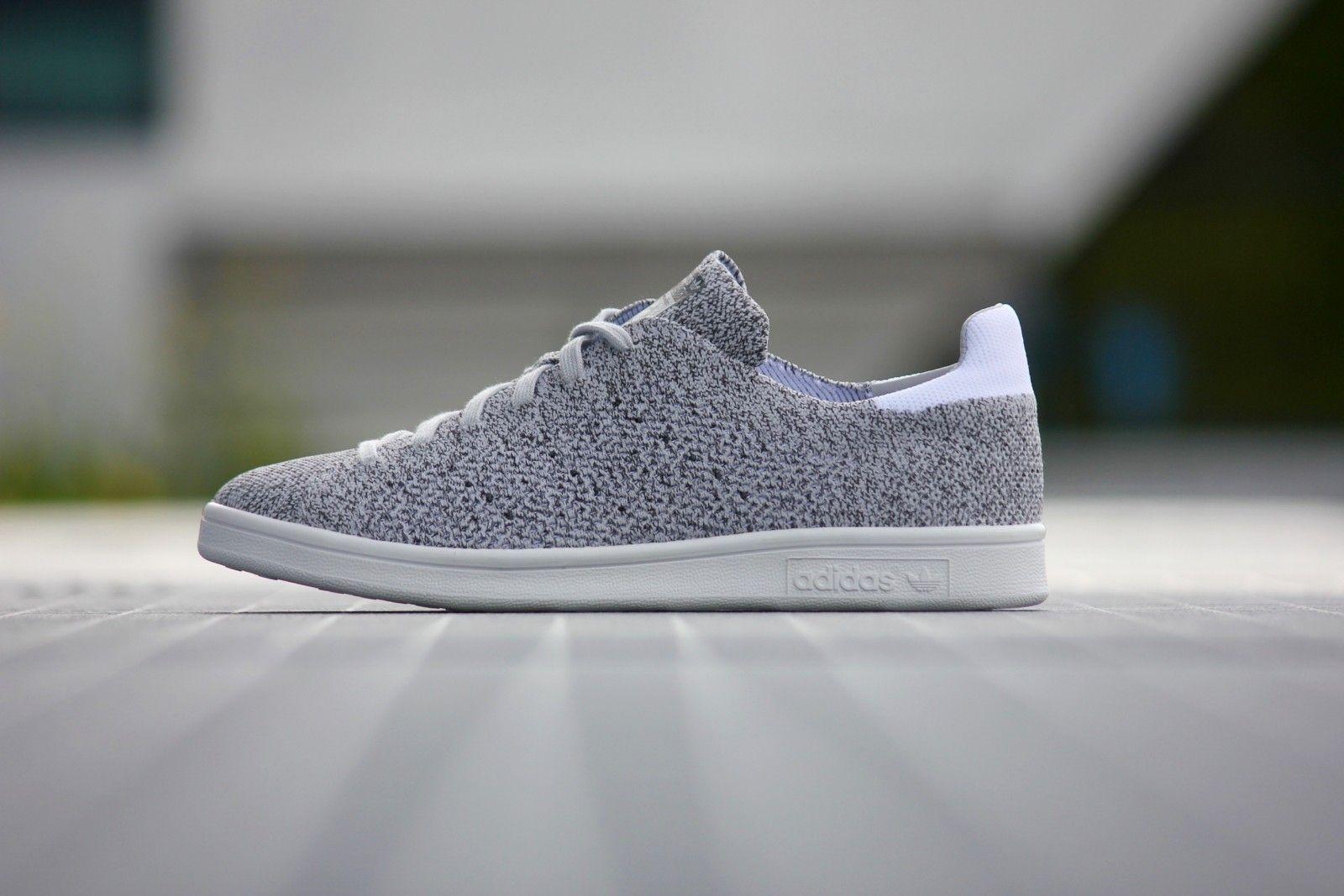 huge selection of 03caa 70334 Adidas Stan Smith Primeknit NM Grey - B27152