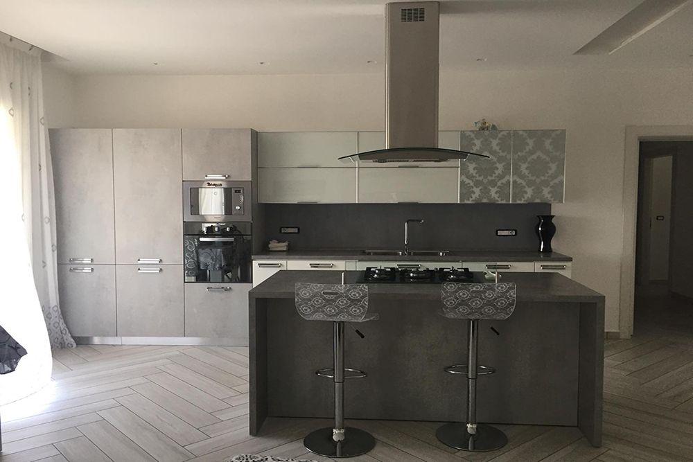Cucina Stosa : Colonne e parte delle basi Modello anta ...