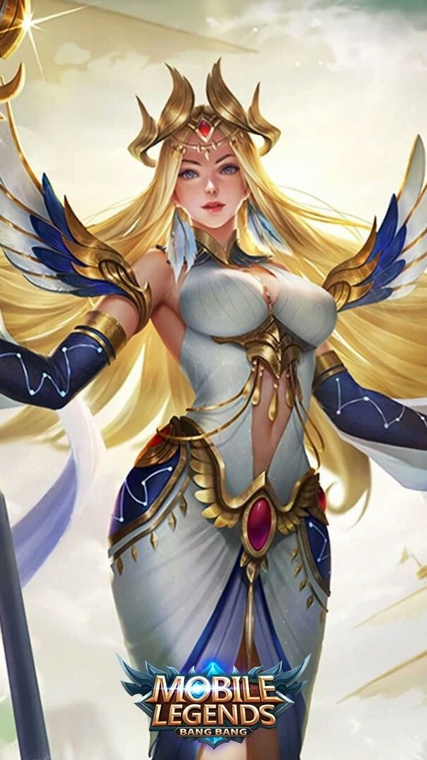 Kadita White Robin Gambar Karakter Desain Karakter Game Gadis Animasi