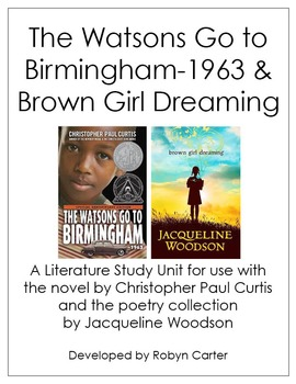The Watsons Go To Birmingham Brown Girl Dreaming A Lit Study