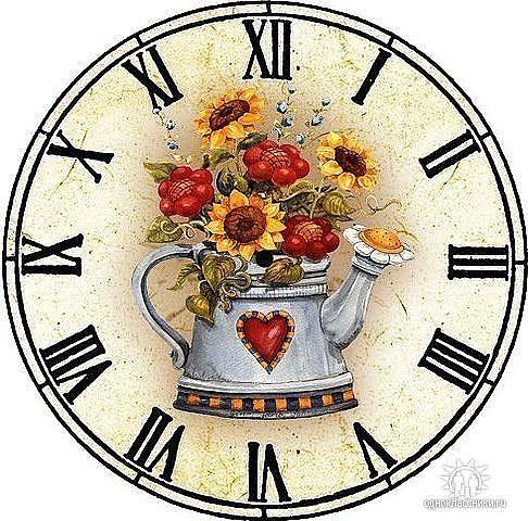 Reloj vintage fondos de reloj vintage o shabby chic para - Reloj pared vintage ...