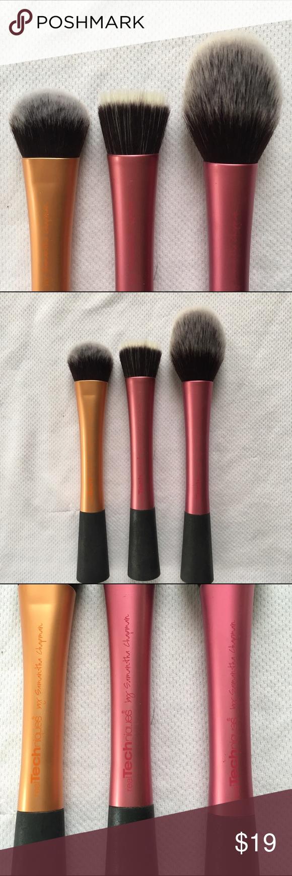 Real Techniques Brushes (4) Real techniques brushes