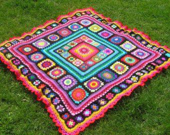 Make it yourself Pattern rainbow mandala von thespannerworks