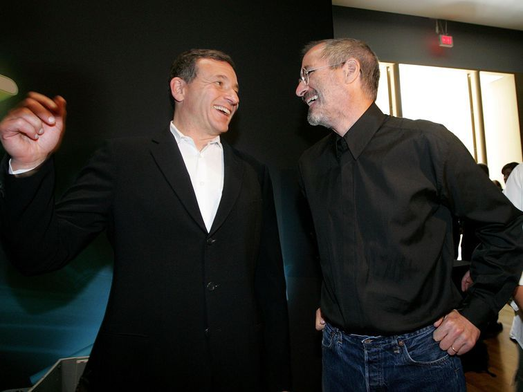 Disney CEO Iger departs Apple board ahead of Apple TV Plus