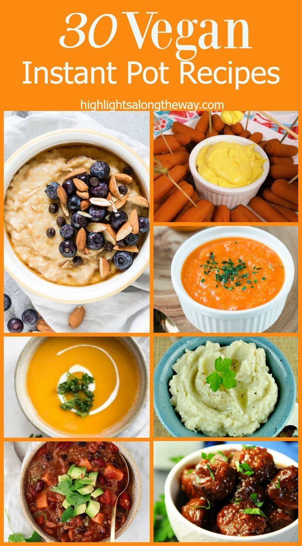 Easy Vegan Instant Pot Recipes Plant Based Recipes For