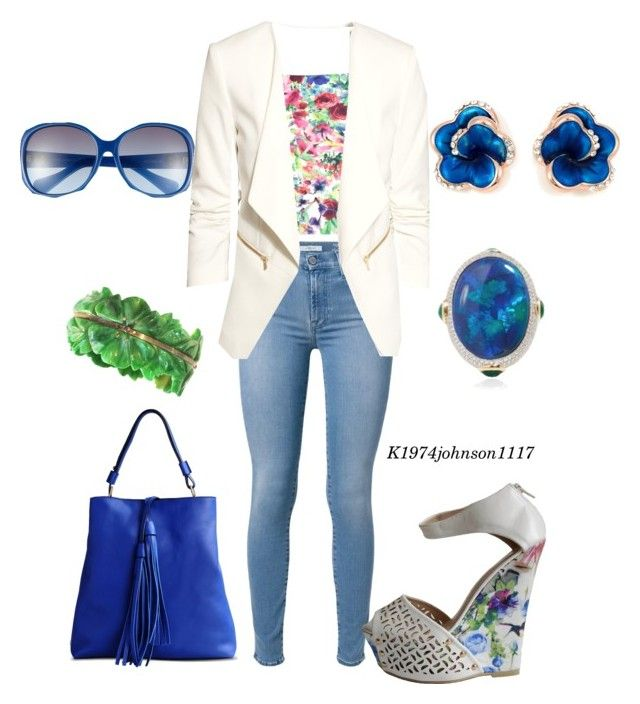 """""""Garden Party """" by k1974johnson1117 ❤ liked on Polyvore"""