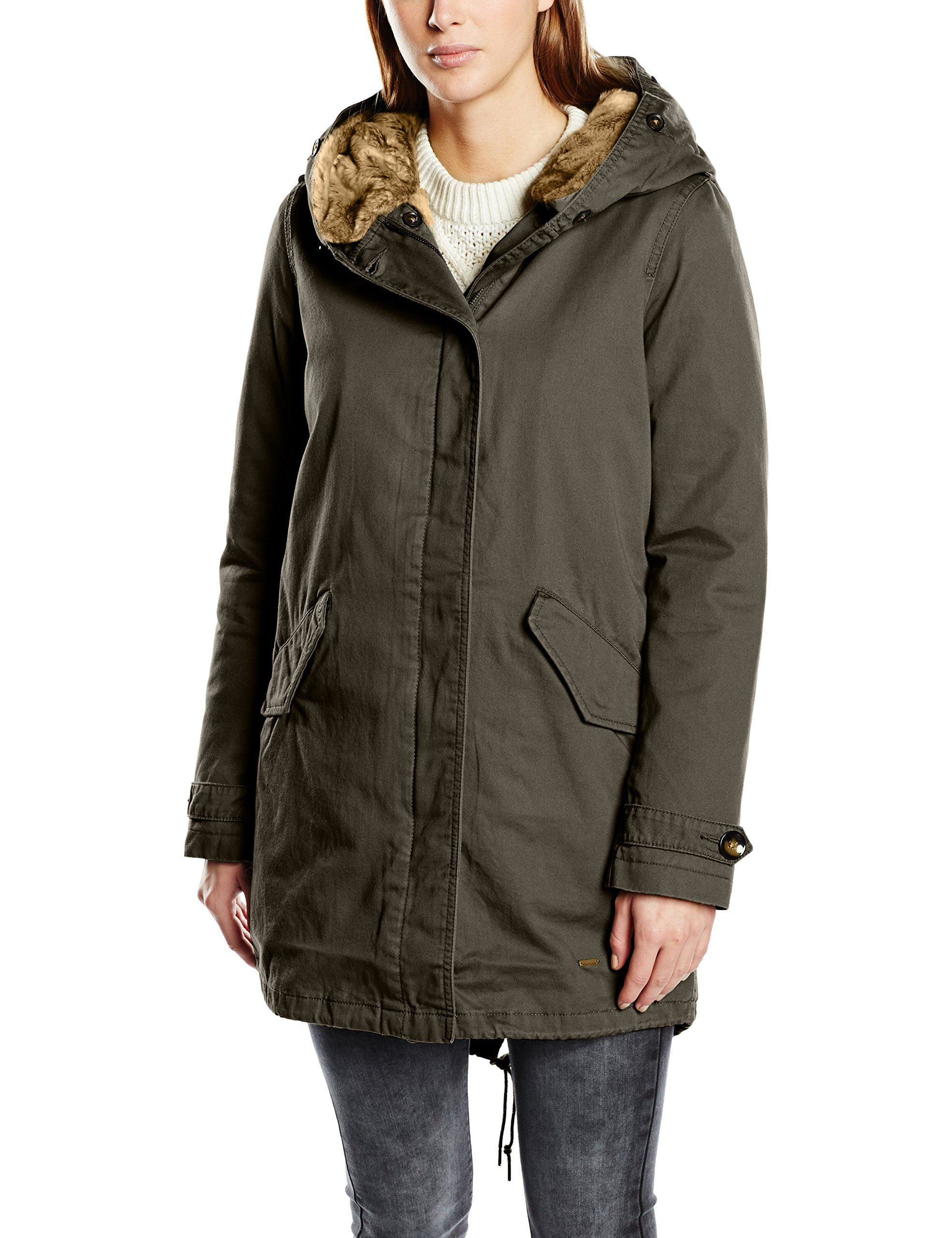 Tom tailor winterjacke oliv