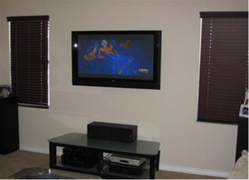 Home Design Flat Screen Tv Wall Mounted Decorating | Tv Wall Mount ...