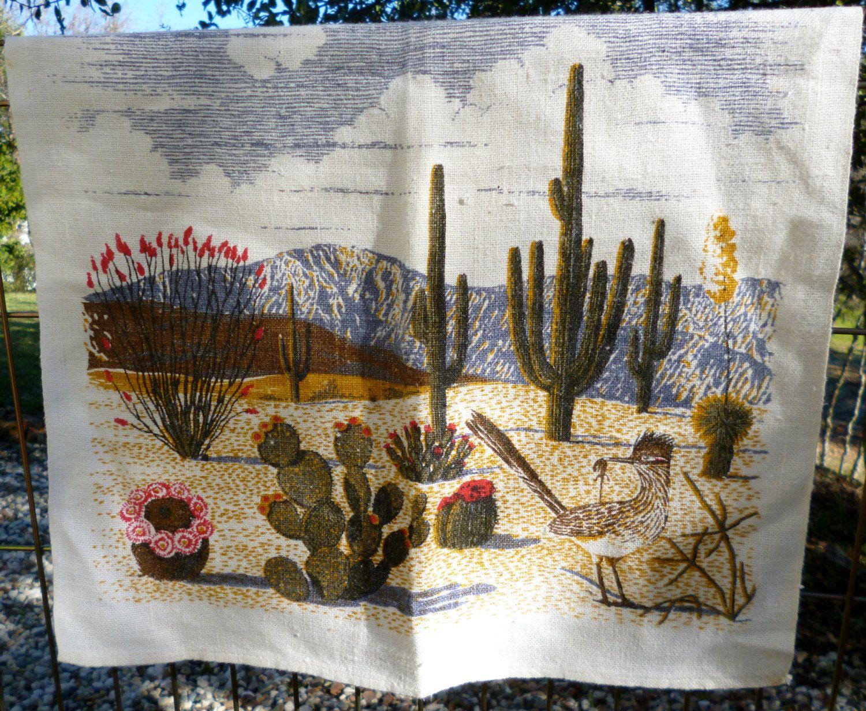 Kay Dee Designs Dish Towels | Tea Towel Dish Towel, Arizona Desert,  Roadrunner,